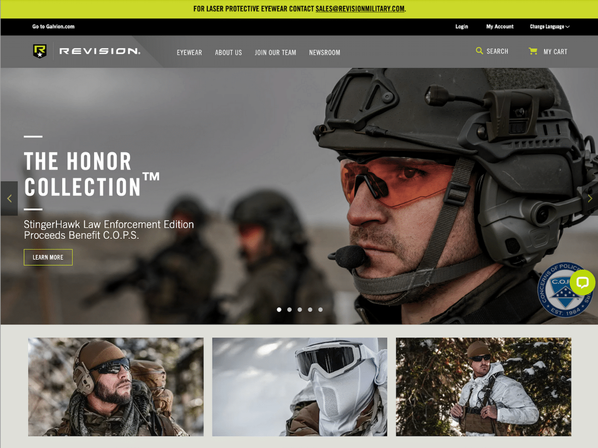 Revision Military Honor Collection