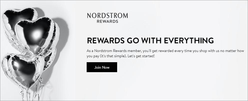 eCommerce Rewards Program - Nordstroms